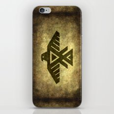 Thunderbird doodem iPhone & iPod Skin