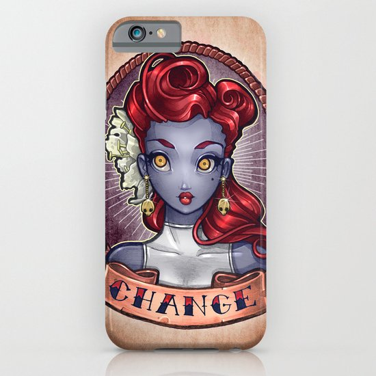 CHANGE pinup iPhone & iPod Case