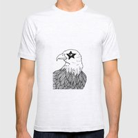Eagle Eye Mens Fitted Tee Ash Grey SMALL
