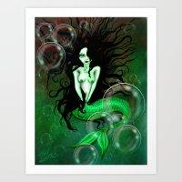 Dark Water Art Print