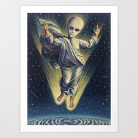 Heaven's Gate Cult Art Print