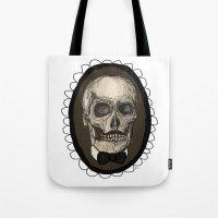 Dapper Skull  Tote Bag