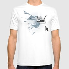 Badaboom! Mens Fitted Tee White SMALL