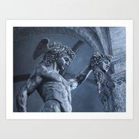Perseus And Medusa Art Print