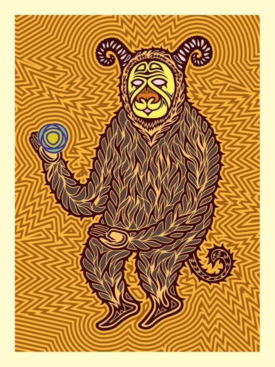 The Energy Field.  Art Print