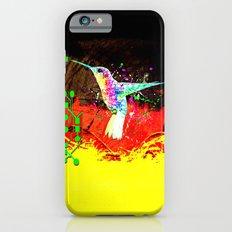 digital hummingbird & (germany Flag) iPhone 6s Slim Case
