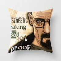 W. H. White Breaking Bad Throw Pillow