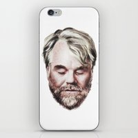 Philip Seymour Hoffman Portrait iPhone & iPod Skin
