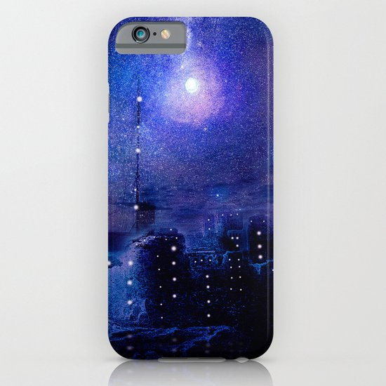 City of lights iPhone & iPod Case