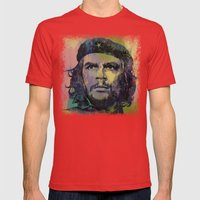 Che Guevara Mens Fitted Tee Red SMALL