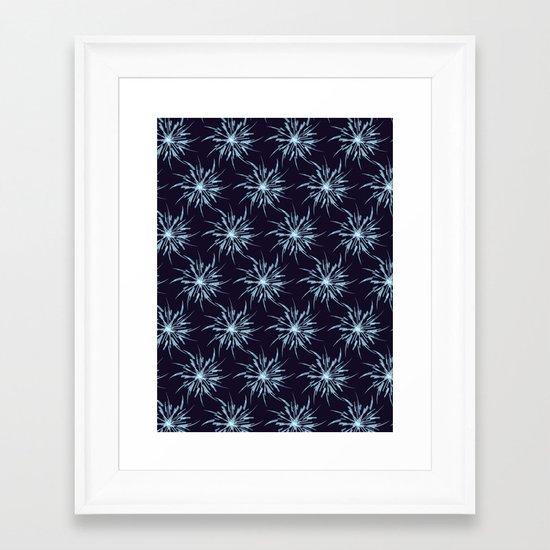 Christmas Snowflakes Framed Art Print