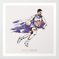 Kevin Johnson Art Print