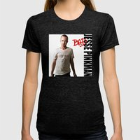 Pinkman's BAD - Breaking Bad Womens Fitted Tee Tri-Black SMALL