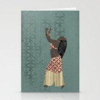 Belly Dancer 1 Stationery Cards
