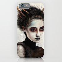 iPhone & iPod Case featuring Death by Feline Zegers