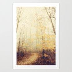 January hush Art Print