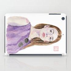 Portrait Of A Fashion Mo… iPad Case
