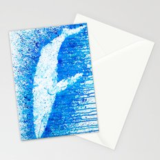 Solitude Whale Stationery Cards