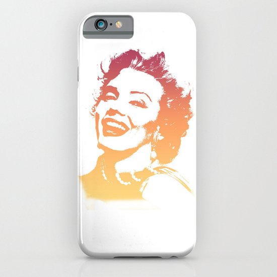 In her glory days iPhone & iPod Case
