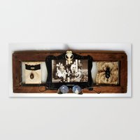 Insect Mortem Canvas Print