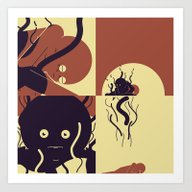 Art Print featuring Are We Dead Yet by Alexis Giroux