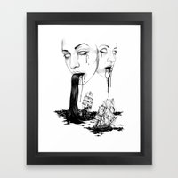 They : Water Framed Art Print