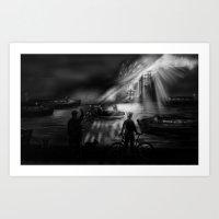 I Dream Of Canals. Art Print