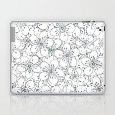 Cherry Blossom Blue - In Memory of Mackenzie Laptop & iPad Skin