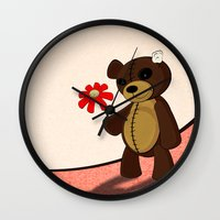 Sweet Teddy Wall Clock