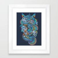 New Space Found Framed Art Print