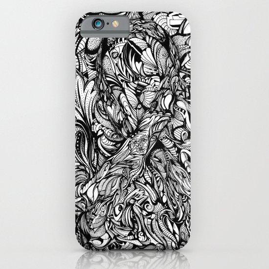 Conquer (Black & White Version)  iPhone & iPod Case