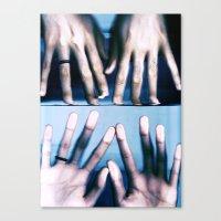 Deep Discomfort Canvas Print