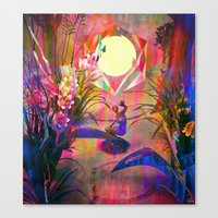 Invisible Unity Canvas Print