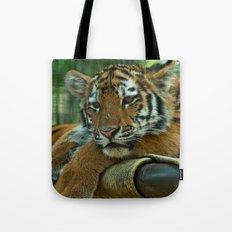 Baby Tiger Tote Bag