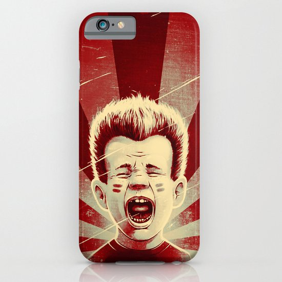 Red Noise iPhone & iPod Case