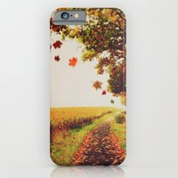 iPhone & iPod Case featuring Autumn tree. by Julia Dávila-Lampe