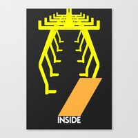 Drive - Inside Canvas Print