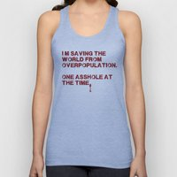 I Can Change The World! Unisex Tank Top