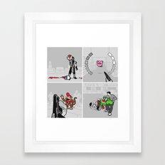 Good Guys In Bad Games Framed Art Print