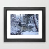 St-André River Framed Art Print