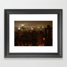 Gotham 2 Framed Art Print