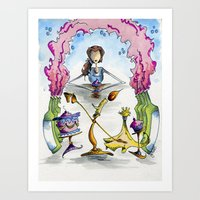 Be Our Guest Art Print