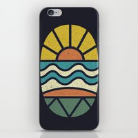 Lets Go Surfing iPhone & iPod Skin