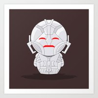 ChibizPop: No strings attached! Art Print
