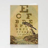 Eye Chart I Stationery Cards