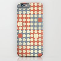iPhone Cases featuring Dots and Squares by Metron