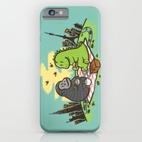 iPhone Cases featuring Let's have a break by Budi Kwan