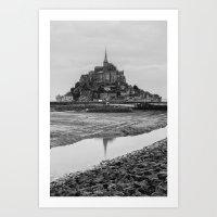 Mont-Saint-Michel Art Print