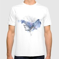 Water Show II Mens Fitted Tee White SMALL