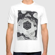 Moon Eye Mens Fitted Tee White SMALL